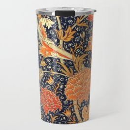William Morris Cray Floral Art Nouveau Pattern Travel Mug