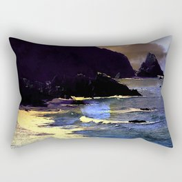 Gold Beach On The Oregon Coast Rectangular Pillow