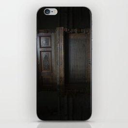 Piano in the dark iPhone Skin