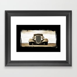 1933 Ford Coupe Framed Art Print