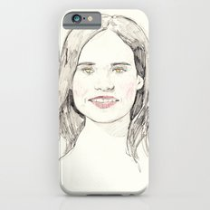 Ellen Page Portrait iPhone 6s Slim Case