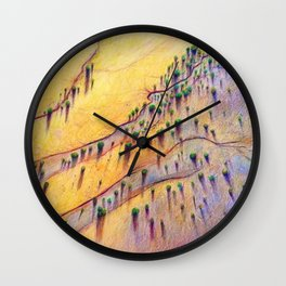 Birds-eye Sunset Wall Clock