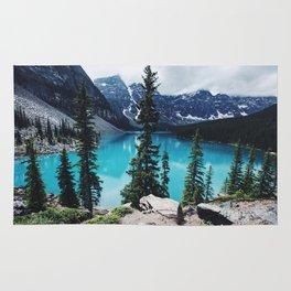 Lake Moraine Alberta Rug
