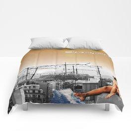 In her hips Comforters