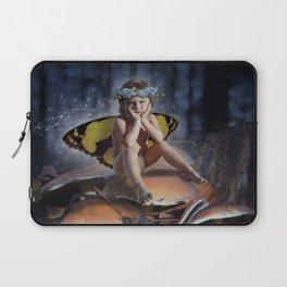 Mad Mushroom Fairy Laptop Sleeve