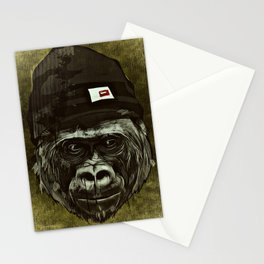 Cool, Cooler, Hip Hop Monkey Stationery Cards