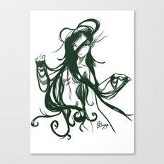 Elf nude hair  Canvas Print