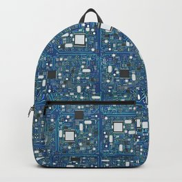 Blue tech Backpack