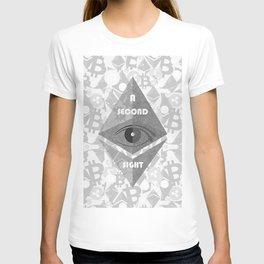 Faith in Ethereum T-shirt