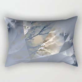 Branches - combined natural and artificial Rectangular Pillow