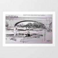 Maidenhead Railway Art Print