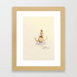 #coffeemonsters 491 Framed Art Print