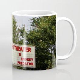 Drive-In Theater Sign Coffee Mug