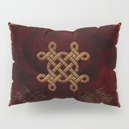 Celtic knote, vintage design Pillow Sham