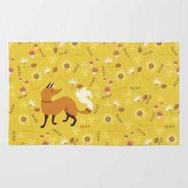 Cute as a Fox Rug