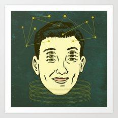 headache highness Art Print