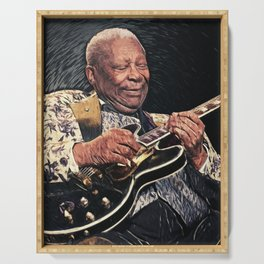 B.B. King Serving Tray