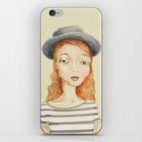 ginger iPhone & iPod Skins featuring Ginger by Seren Söyler