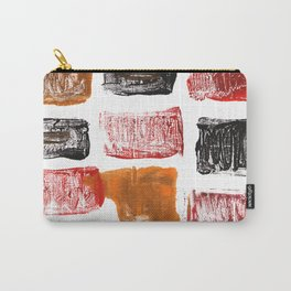 Licorice abstract watercolor Carry-All Pouch