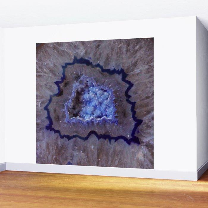 Quartz Inside Geode rustic decor Wall Mural