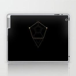 Acid geometry Black Laptop & iPad Skin