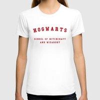 hogwarts T-shirts featuring Hogwarts by Fabian Bross