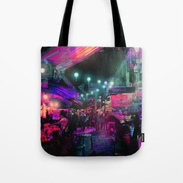 Tunes of the Night Tote Bag