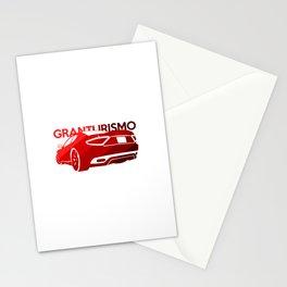 Maserati GranTurismo S - classic red - Stationery Cards