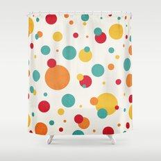I'm Just A Bit Dotty! Shower Curtain