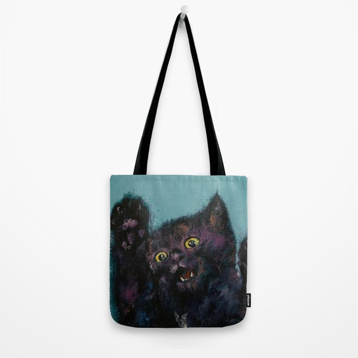 Ninja Kitten Tote Bag