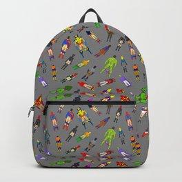 Butt of Superhero Villian - Dark Backpack