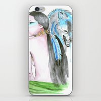 indie iPhone & iPod Skins featuring Indie by Tamara Kajper
