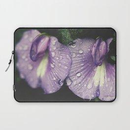 Nostalgic Purple Laptop Sleeve