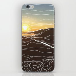 Sunrise Goat Rock 1 iPhone Skin
