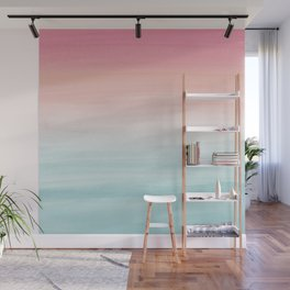 Touching Watercolor Abstract Beach Dream #1 #painting #decor #art #society6 Wall Mural
