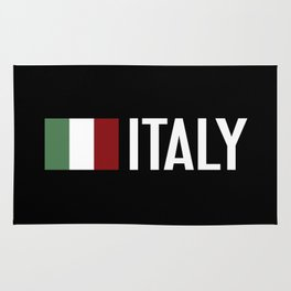 Italy: Italy & Italian Flag Rug
