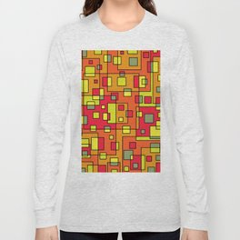 Sqaures all around 2 Long Sleeve T-shirt