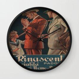 Vintage poster - La Rinascente Wall Clock