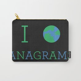I heart Anagrams Carry-All Pouch