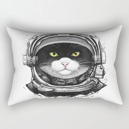Cosmic cat Rectangular Pillow