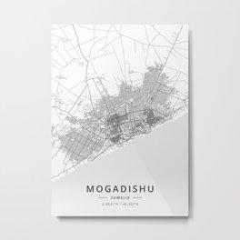 Mogadishu Somalia Metal Print