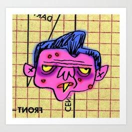 Sid Nixon Art Print