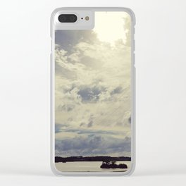 By the River Clear iPhone Case