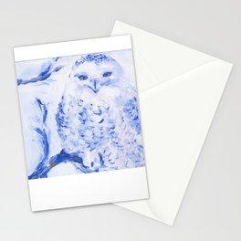 Insight: Snowy Owl Stationery Cards