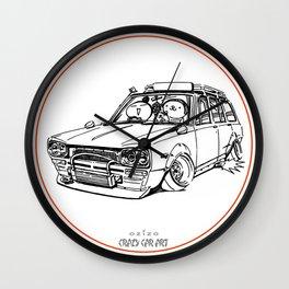 Crazy Car Art 0186 Wall Clock