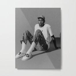 Tyler The Creator Flower Boy Music Poster Hip Hop Rapper Star Retro Poster Music Singer Wall Art Painting Metal Print