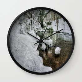 Snowy River Bank Wall Clock