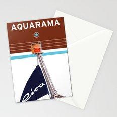 Riva Aquarama Italian Vintage Art Print Decoration Stationery Cards