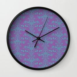 Vintage rococo tapestry - Royal Disco Wall Clock