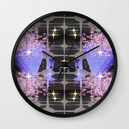 stars center Wall Clock